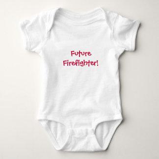 Zukünftiger Feuerwehrmann! - Baby Baby Strampler