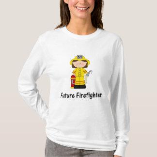 zukünftiger Feuerwehrmann (Mädchen) T-Shirt