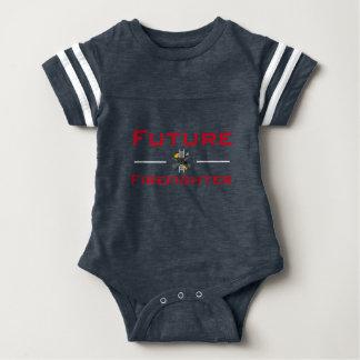 Zukünftiger Feuerwehrmann-Säuglings-T - Shirt