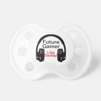 Zukünftiger Gamer mögen Vati! Schnuller
