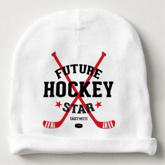 Zukünftiger Hockey-Stern-roter Babymütze