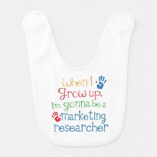 Zukünftiger Marketing Forscher-Baby-Schellfisch Lätzchen