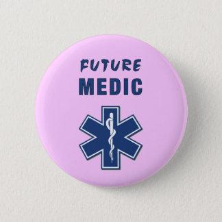 Zukünftiger Mediziner Runder Button 5,7 Cm