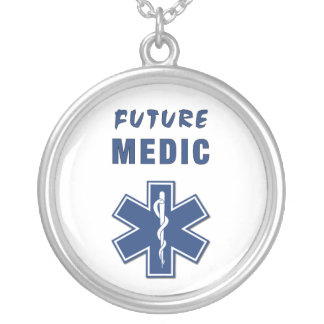 Zukünftiger Mediziner Versilberte Kette