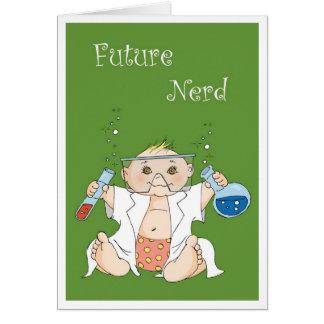 Zukünftiger Nerd - Mädchen Karte