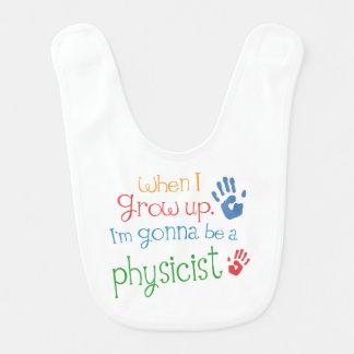 Zukünftiger Physiker-Baby-Schellfisch Lätzchen