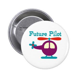Zukünftiger Pilot Runder Button 5,7 Cm