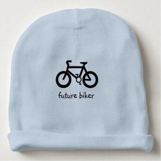 zukünftiger Radfahrer Babymütze
