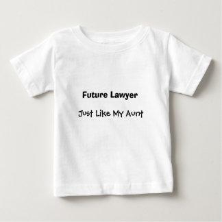 Zukünftiger Rechtsanwalt, gerade wie meine Tante Baby T-shirt