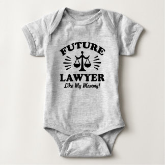 Zukünftiger Rechtsanwalt mögen meine Mama Baby Strampler