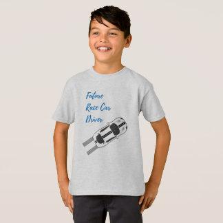Zukünftiger Rennen-Auto-Fahrer - der T - Shirt des