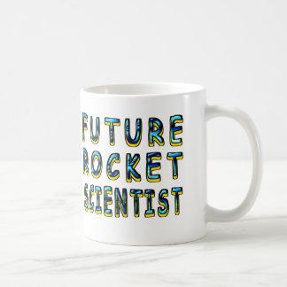 Zukünftiger Rocket-Wissenschaftler in 3D Kaffeetasse