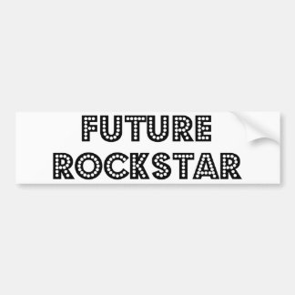 Zukünftiger Rockstar Autoaufkleber