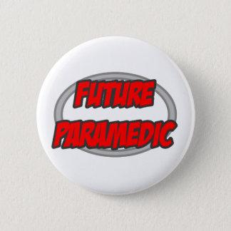 Zukünftiger Sanitäter Runder Button 5,1 Cm