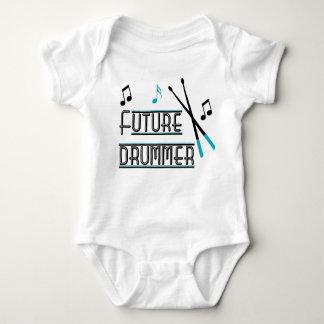 Zukünftiger Schlagzeuger Baby Strampler