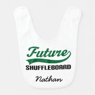 Zukünftiger Shuffleboard-personalisierter Lätzchen