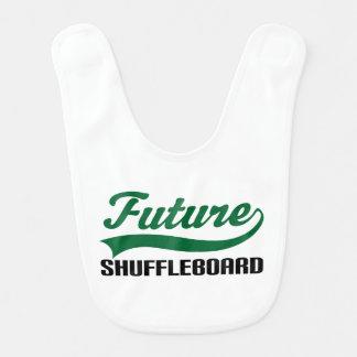 Zukünftiger Shuffleboarder Baby-Schellfisch Lätzchen