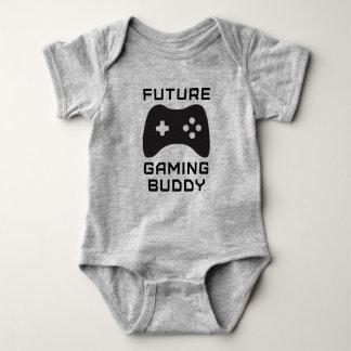 Zukünftiger Spiel-Freund Baby Strampler