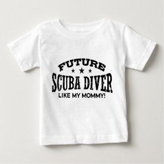 Zukünftiger Sporttaucher Baby T-shirt