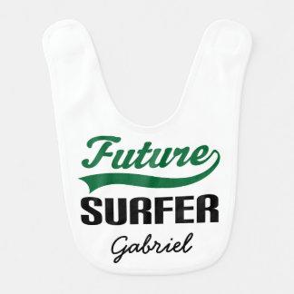 Zukünftiger Surfer-personalisierter Lätzchen