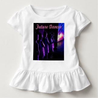 Zukünftiger Tänzer wartete auf Bühne verlassenes Kleinkind T-shirt