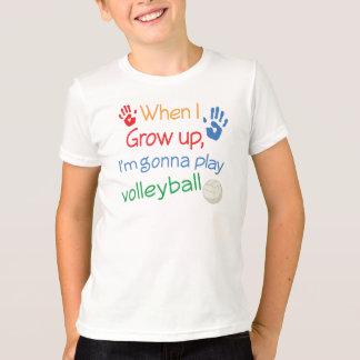 Zukünftiger Volleyball-Spieler T-Shirt