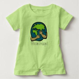 Zukünftiger Weltwechsler-Babyspielanzug Baby Strampler