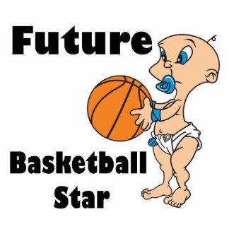 zukünftiges Basketball - Star-Baby Freistehende Fotoskulptur