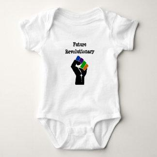 Zukünftiges revolutionäres Onsie Baby Strampler