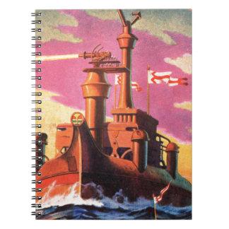 Zukünftiges Schlachtschiff Notizblock