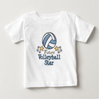 Zukünftiges Volleyball-Stern-Baby-T-Shirt Baby T-shirt