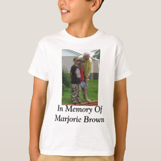 Zum Gedenken an Marjorie Brown T-Shirt