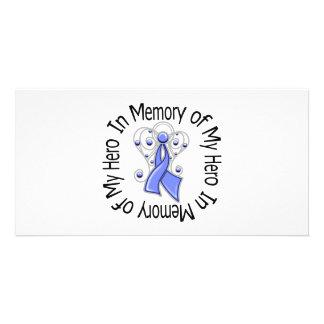 Zum Gedenken an meine Held-Magen-Krebs-Engels-Flüg Bildkarten