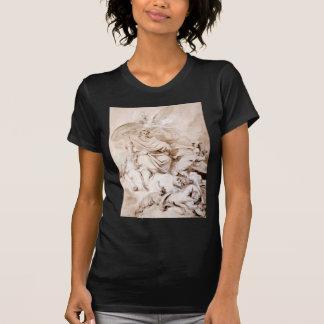 Zum Genie von Franklin durch Jean-Honore Fragonard T-Shirt