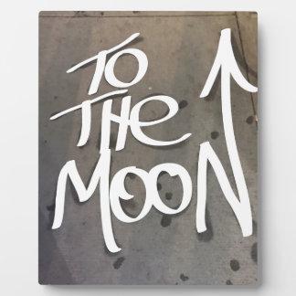 Zum Mond Fotoplatte
