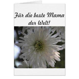 Zum Muttertag Grußkarte
