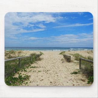 Zum Strand Mauspads
