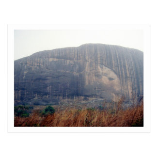 Zuma-Felsen, Nigeria Postkarte