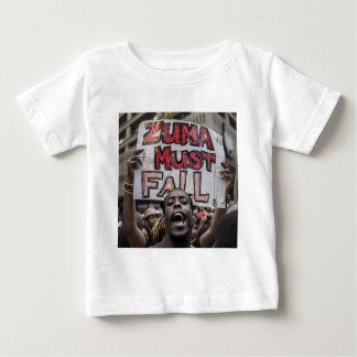 Zuma muss fallen baby t-shirt