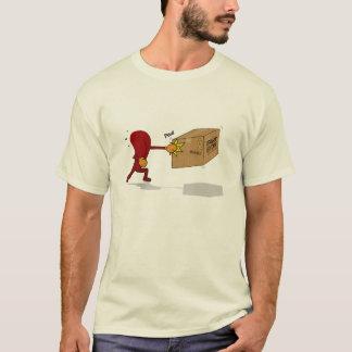 Zunge-Durchschlag mein Furz-Kasten (kein Text) T-Shirt