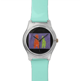 Zuni Mädchen Armbanduhr