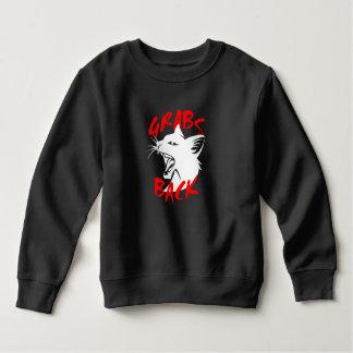 Zupacken-zurück Kleinkind-Dunkelheits-Sweatshirt Sweatshirt