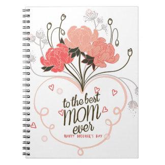 Zur besten Mamma überhaupt Notizblock