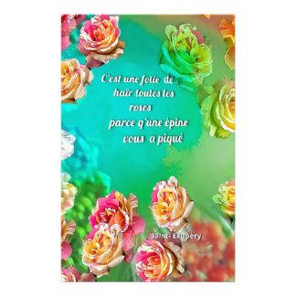 Zur Liebe ist zu verzeihen Briefpapier
