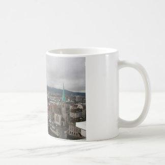 Zürich, die Schweiz Kaffeetasse