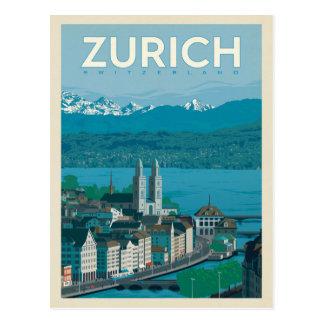 Zürich, die Schweiz Postkarte
