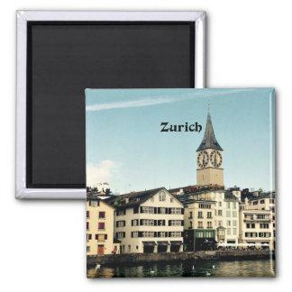 Zürich, die Schweiz Quadratischer Magnet