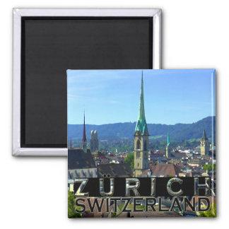 Zürich Quadratischer Magnet