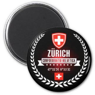 Zürich Runder Magnet 5,7 Cm