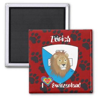 Zürich Schweiz Suisse Svizzera Magnet
